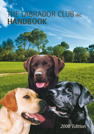 The labrador club handbook cover